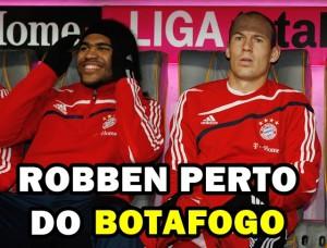 ROBBEN PERTO DO BOTAFOGO