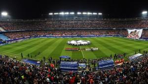 Time vai bem na Champions League (fonte: site oficial)