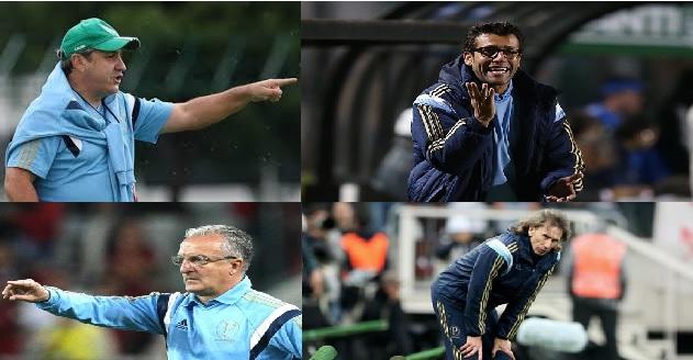 Todos esses treinaram o Palmeiras em 2014