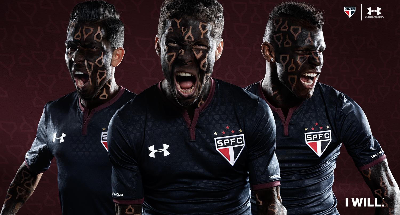 9b9c0399c7f Under Armour e São Paulo apresentam o terceiro uniforme