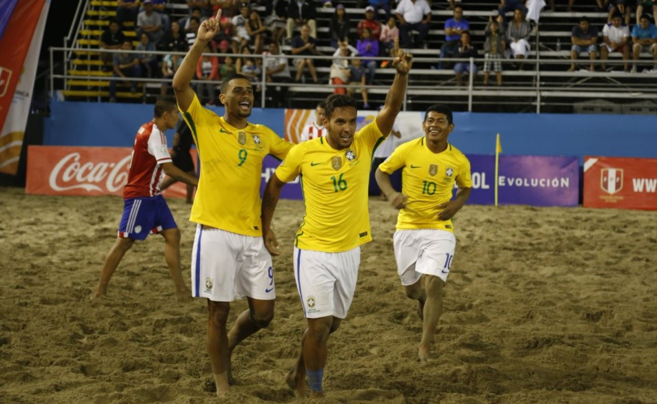 BEACH SOCCER. BRASIL. DUODECACAMPEÃO.