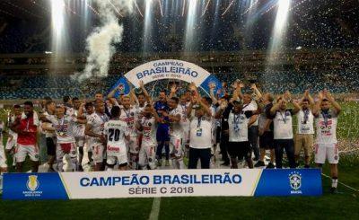 CAMPEONATO BRASILEIRO DA SÉRIE C DE 2018. OPERÁRIO-PR. CAMPEÃO. CUIABÁ-MT. VICE-CAMPEÃO.