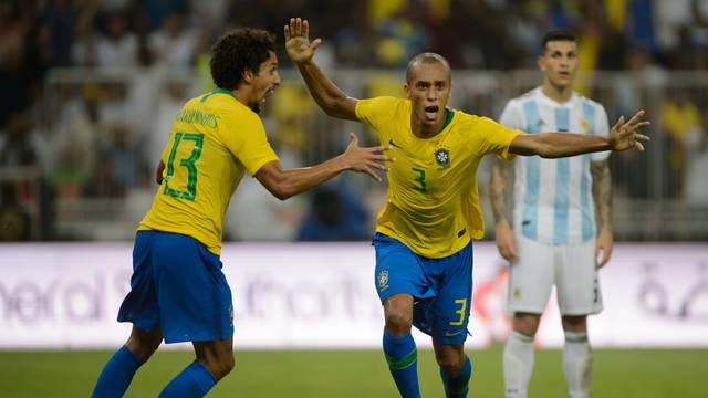 AMISTOSO. BRASIL. ARGENTINA. SUPERCLÁSSICO.