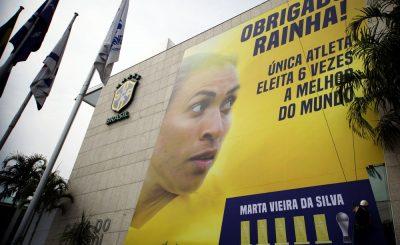 MELHOR DO MUNDO. FIFA. SEXTA VEZ. MARTA.