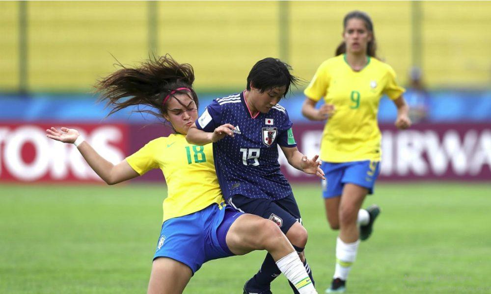 COPA DO MUNDO DE FUTEBOL FEMININO SUB-17.BRASIL. JAPÃO. MÉXICO. ÁFRICA DO SUL. GRUPO B.