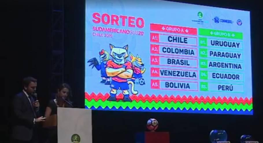 SUL-AMERICANO SUB-20. BRASIL. CHILE. VENEZUELA. COLÔMBIA. BOLÍVIA. GRUPO B. URUGUAI. PARAGUAI. ARGENTINA. EQUADOR. PERU.