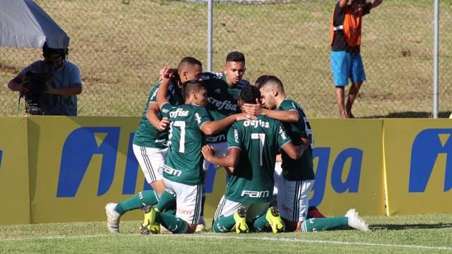 COPA RS DE FUTEBOL SUB-20. FINAL. PALMEIRAS-SP. CAMPEÃO. SÃO PAULO-SP. VICE-CAMPEÃO.