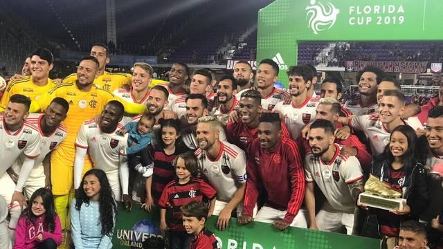 FLÓRIDA CUP DE 2019. FLAMENGO-RJ. BRASIL. CAMPEÃO. AJAX. HOLANDA. VICE-CAMPEÃO. EINTRACHT FRANKFURT. ALEMANHA. TERCEIRA LUGAR. SÃO PAULO-SP. BRASIL. QUARTA LUGAR.