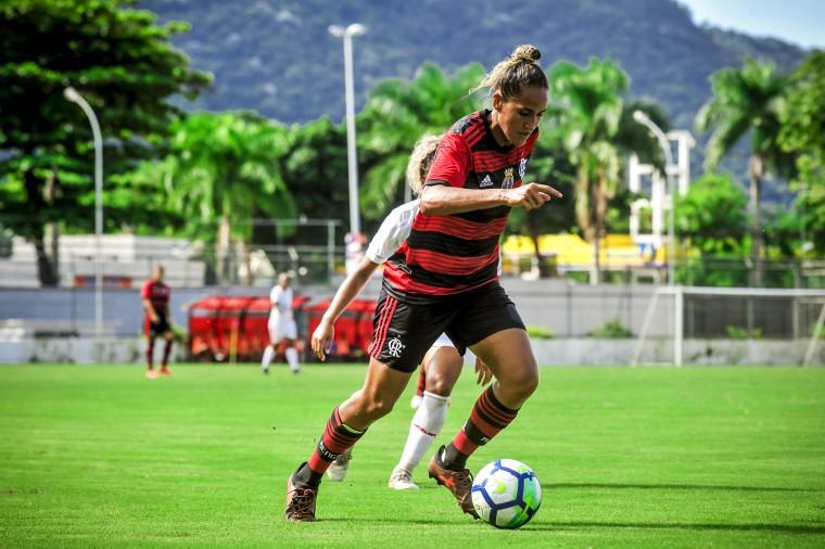 CAMPEONATO BRASILEIRO DE FUTEBOL FEMININO. SÉRIE A1. DE 2019. QUARTA RODADA. FLAMENGO-RJ. AUDAX-SP.