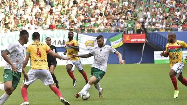 CAMPEONATO BRASILEIRO DA SÉRIE D. FINAL. BRUSQUE-SC. CAMPEÃO. MANAUS-AM. VICE-CAMPEÃO.